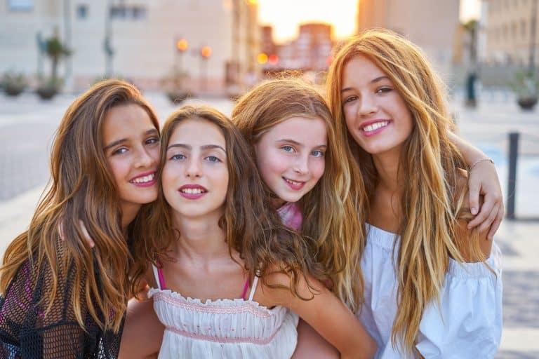 Girls Geburtstags Treatment